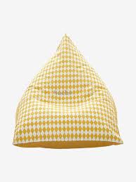 siege poire pouf personnalisable poire jaune vertbaudet