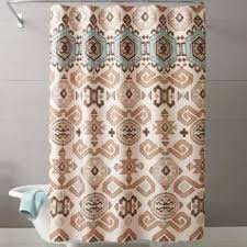 Best Fabric For Shower Curtain Green Fabric Shower Curtain Foter