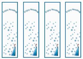 6 images frozen printable bookmarks color frozen