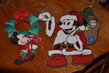 mickey mouse christmas decorations ebay
