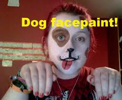 basic facepaint dog youtube