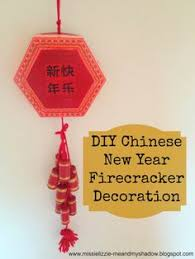 Homemade New Year Decorations by Lunar New Year Firecracker Wall Hanging Decoration Craft And
