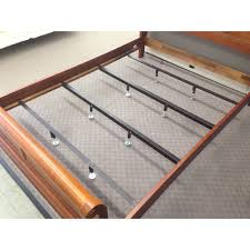 low profile bed queen bed steel center support bars bb5q
