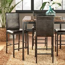 Counter Height Dining Room Furniture by Darcy Metal Upholstered Counter Height Dining Chairs Set Of 4 By