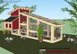 home garden plans s100 chicken coop plans construction