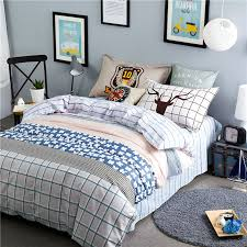 Blue And White Comforters Online Get Cheap White And Blue Flower Comforter Aliexpress Com