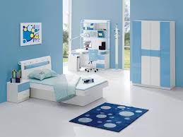 bedrooms kids room light blue color scheme wall paint ideas