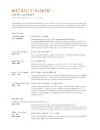 Pictures Of Resumes Examples by Simple Resume Templates 75 Examples Free Download