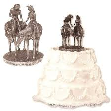 western cake topper cowboy wedding cake toppers