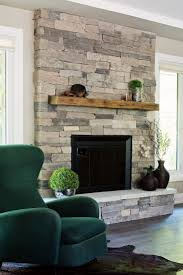 Fireplace Wall Decor by Best 25 Stone Fireplace Decor Ideas On Pinterest Fire Place