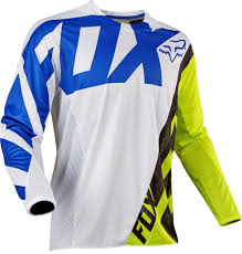 youth motocross jerseys 2017 fox creo kids youth 360 motocross jersey white yellow 1stmx