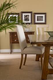 new open carved leg chest with our most popular dining table and