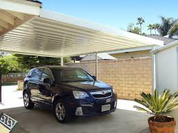 attached carport carports superior awning
