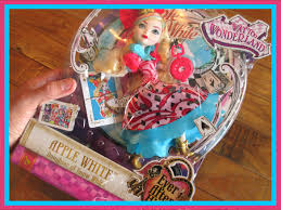 Ever After High Apple White Doll Ever After High Way Too Wonderland Apple White Doll Review