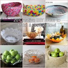 20 creative diy ideas to make a unique bowl
