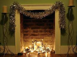 led lights for fireplace mantel inside non tacky ways decorate