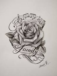 treble clef and rose u2026 pinteres u2026