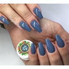 grey coffin nails fall colors nail design margaritasnailz