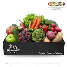fruit delivered to your door single order organic food boxes ta my nutrition box