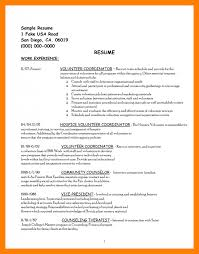 10 volunteer work resume job apply form