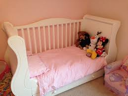 Nursery Cot Bed Sets by Tutti Bambini Maria Louis White Sleigh Cot Bed Set In Greenock