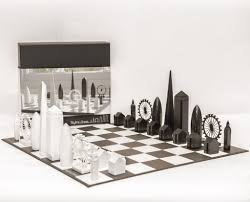 skyline chess set u2013 the view from the shard