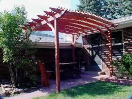 Attaching Pergola To House by Pergola Backyard Pergola Design And Ideas Building A Pergola