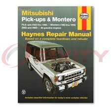 mitsubishi mighty max haynes repair manual spx sport 1 ton base