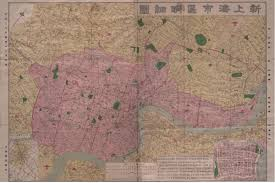 Map Of Shanghai Shanghai In Post 1949 Maps Secrets Lies And Urban Icons