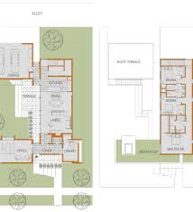 modern house plans with courtyard