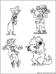 Chucky Doll Coloring Pages Rugrats Coloring Pages Free Printable
