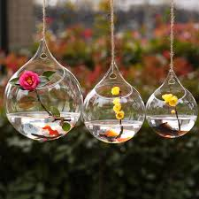 2015 new hanging glass bauble vase flower vase hydroponic