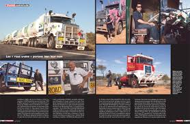 kenworth bayswater australian outback big rigs 8 page story in trucks mag france