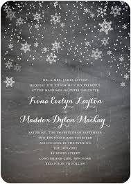 Snowflake Wedding Invitations 7 Pretty Snowflake Wedding Invitations Indie Wedding Guide