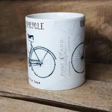 personalised mug u0027vintage bike u0027 design by lovehart