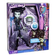Halloween Costumes Monster High by Monster High Ghouls Rule Dolls Frankie Stein Halloween Costume