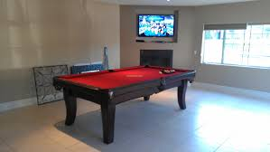 7 Foot Pool Table Manhattan Modern Pool Tables Contemporary Pool Tables Pool