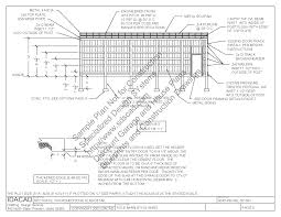 Garage Blueprint 3040pb1 30 X 40 X 12 Pole Barn Plans Blueprints Construction