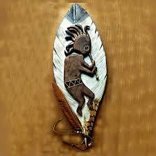 kokopelli art sculpture 31 u0027 u0027 wood carving