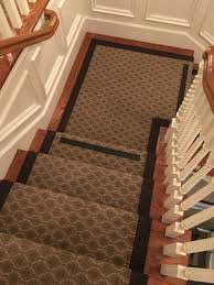 Indoor Outdoor Rug Runner Stanton Indoor Outdoor Carpet Fabricated Into A Stair Runner