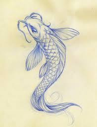 koi fish drawings koi fish sketch by daeo traditional art