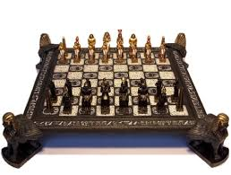 ancient chess beautifully crafted new egyptian chess set travelling back in
