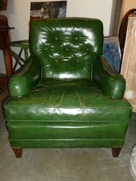 Leather Armchairs Vintage Green Leather Club Chair U2026 Sold Buster Drake Fine Vintage