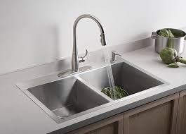 Kitchen Sink Kohler Kitchen Amazing Top Mount Stainless Steel Kitchen Sinks Sink