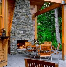 built in deck fireplaces creative fireplaces design ideas