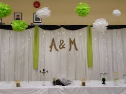 wedding backdrop monogram cheap and easy wedding backdrop monograms weddings 3