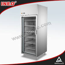 Small Commercial Refrigerator Glass Door by 304 Stainless Steel Upright Two Doors Commercial Drink Display