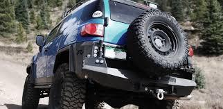 toyota fj toyota fj rear bumper fab fours
