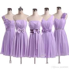 2017 country style short bridesmaid dresses 5 style hand made