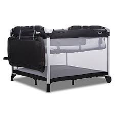 joovy room2 twin nursery center in black buybuy baby